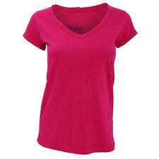 T-shirt, maglie e camicie da donna rosa basici taglia XL