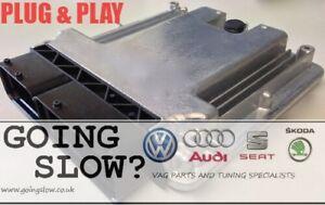 VW TOURAN 2.0 TDI BKD 140 TUNED ECU 175HP REMAP IMMO OFF PLUG & PLAY 03G906021KF