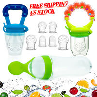 Gedebey Baby Food Feeder, Pacifier Fruit- Fresh Silicone Bottle Squeeze Spoon