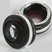Focal Reducer Speed Booster Adapter For Nikon F/G Lens To Canon EF-m EOS-m M3 M5