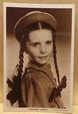 Child Film Stars - Margaret O'Brien  postcard