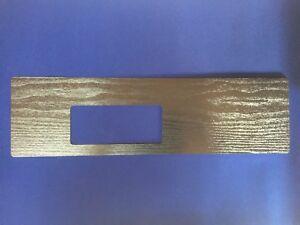 Ford XA XB GT Fairmont Auto Black Woodgrain Console Panel Factory Replacement