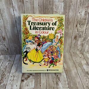 Vintage Children's Story Book Treasury Of Literature 1970s Illustrated Hardback