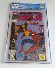 Marvel Comics Presents #48 (1990) CGC 9.6 WP Wolverine/Spiderman Storm/Dr. Doom