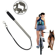 Bicycle Dog Leash Pet Lead Rope Hands Free Traction Belt Ride Bike Cycling Walk