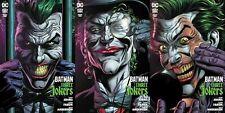 BATMAN THREE JOKERS #2 (2020) DC Comics PREMIUM cover set 9/29/2020