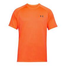 Under Armour UA Tech SS Tee Maglietta a maniche corte Uomo Arancione (o8f)