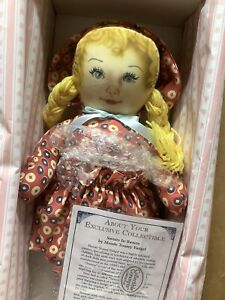 Reproduction Cloth Doll Maude Tousey Fangel Sweet In Sweets MIB