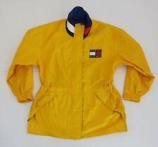 Vintage Tommy Hilfiger Yellow 100% Nylon Windbreaker Jacket Men's Size M