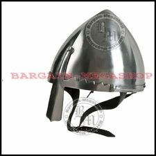 Norman / Viking Nasal Helmet LARP / SCA/ Medieval / Reenactment Costume Armour