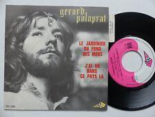 Gérard Palaprat – Le Jardinier Du fond Des Mers  sg 229 ***