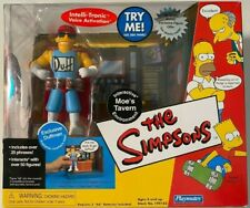 Simpsons Moe's Tavern Environment with Exclusive Duffman Figure Playmates SEALED