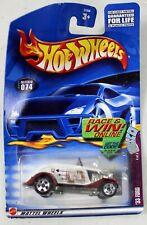 '33 Ford Roadster - Hot Wheels Die-Cast Trump Car Series #074 - Mattel