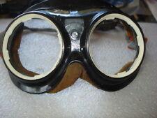 ANTIQUE AVIATOR/MOTORCYCLE GOOGLESS GLASSES