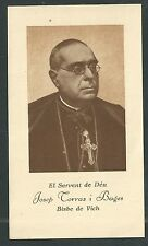 Estampa antigua del Siervo Josep Terras andachtsbild santino holy card santini