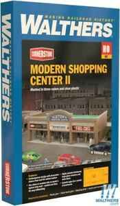 Walthers 933-4116 Modern Shopping Center II Kit : HO Scale