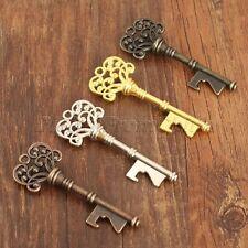 Vintage Metal Key Shape Beer Wine Bottle Opener Wedding Party Kitchen Bar Tool