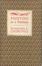 Painting as a Pastime Winston S Churchill 1965 Reprint w 18 color illustrations