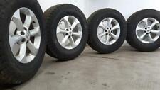 Set Of 17 Inch NISSAN NAVARA Alloy Wheels Rims & GENERAL GRABBER 265/70/17 Tyres