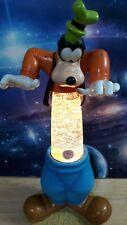 CUSTOM DISNEY GOOFY Lava Motion Glitter Table Lamp