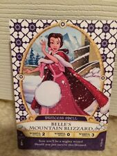 WALT DISNEY WORLD Sorcerers Magic Kingdom Belle's Mountain Blizzard Card 2/70