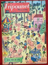 Fripounet Marisette Coeurs Vaillants  N° 35 du  29 AOUT  1963 bon etat