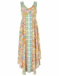 New MONSOON Size 16 18 ( L ) PRINT MAXI DRESS BNWT ✱