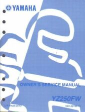 2007 Yamaha YZ250W1 Motorcycle Owners Service Manual : LIT-11626-20-48