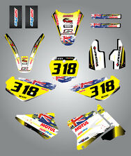 Full  Custom Graphic  Kit -AUSSIE PRIDE - Suzuki RM 85  / 2002 - 2016 decals