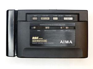 AIWA HS-P505 High End Kassettenplayer, Riemen neu, überholt, w. Walkman- BBE,DSL