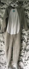 Size S (10/12) Primark Grey Wolf All In One