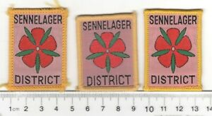 UK Scouts BSWE Sennelager District Badges