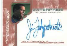 Jim Fitzpatrick As Commander Williams Star Trek Enterprise Card RittenHouse 2002