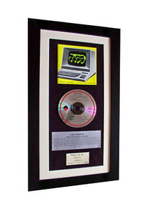 KRAFTWERK Computer World CLASSIC CD GALLERY QUALITY FRAMED+EXPRESS GLOBAL SHIP