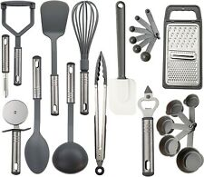 New ListingSet 23 Nylon and Stainless Steel Cooking Utensils - Kitchen Gadgets- Non Stick