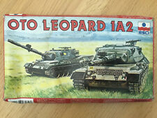 1.72 ESCI GERMAN OTO LEOPARD 1A2 TANK. OLD BOX COMPLETE. GREAT DETAIL FOR SCALE