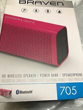 BRAVEN 705 Portable Wireless Bluetooth Speaker [12 Hours][Water Resistant] 1400