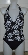 Tankini Sets Halterneck Regular Floral Swimwear for Women