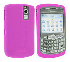 Blackberry Curve 8300 Skin Silicone Case Magenta UK