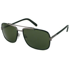$340 New TOM FORD TF0147 MARTINE Men's AVIATOR Black gunmetal Sunglasses Italy