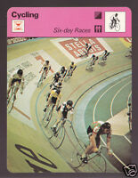 CYCLING Six-Day Races Track Palais des Sports Grenoble 1979 SPORTSCASTER CARD