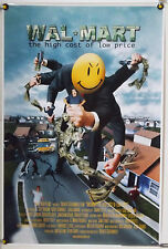 WAL-MART: THE HIGH COST OF LOW PRICE ROLLED ORIG 1SH MOVIE POSTER WALMART (2005)