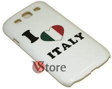 Cover Custodia Per Samsung Galaxy S3 Neo i9300 I Love Italia rigida