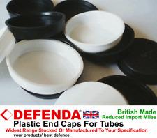 """400 de rechange extra Tube Plastique Fin Capuchons 32 mm 1.25"""" pouces large Bouchons Bondes Bouchons"""