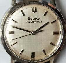 Bulova Accutron 214 Stainless Steel Swiss M5 1965 Rare