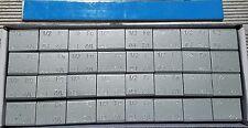 "1 BOX OF WHEEL WEIGHTS | 1/2 OZ (0.50) | STICK-ON |112 OZ 224 PCS ""PERFECT MODEL"