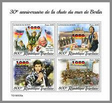 TOGO 2019 ** David Hasselhoff Bruce Springsteen Berlin Wall #02-535a B