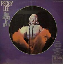 Peggy Lee(Vinyl LP)The Song Is You-UK-MFP 1358-MFP-Ex/Ex