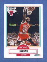 1990-91 Fleer Michael Jordan Chicago Bulls #26 Mint Condition & Well Centered!