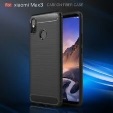 for XIAOMI Mi Max 3 Carbon Case 360° Cover & Full Coverage Screen Protector